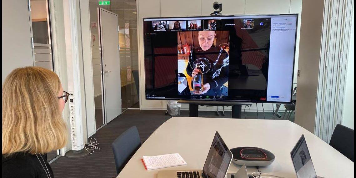 Virtuell Bloggertur til Fjord Norge.