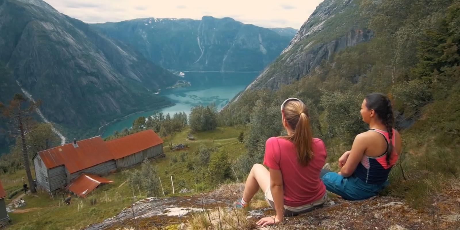 Sommer i Fjord Norge